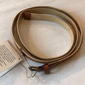 NWT ZARA two toned belt